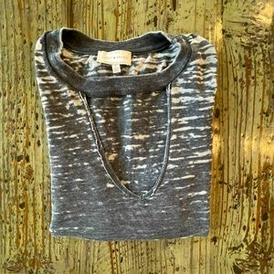 🌟2 for $10!!! Lucky Brand Gray Distressed Tee